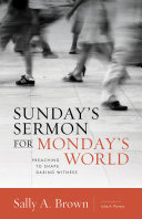 Sunday's Sermon for Monday's World Pdf/ePub eBook