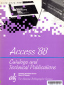 Catalogs And Technical Publications