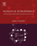 Nonlocal Astrophysics