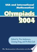 USA and International Mathematical Olympiads 2004 Book