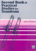 Second Book of Practical Studies for Trombone and Baritone