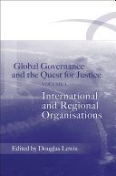 International and Regional Organisations