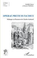 Pdf Operae pretium facimus Telecharger