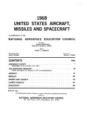 United States Aircraft  Missiles  and Spacecraft