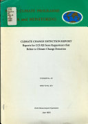 Climate Change Detection Report