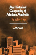 An Historical Geography of Modern Australia