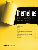 Themelios, Volume 38, Issue 1