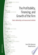 Profitability, Financing & Growth of the Firm