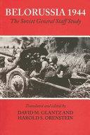 Belorussia 1944