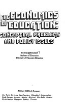 The Economics of Education: Conceptual Problems and Policy Issues