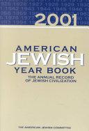 American Jewish Year Book 2001