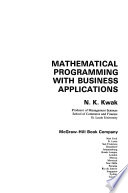 Mathematical programming with business applications