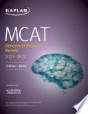 Mcat Behavioral Sciences Review 2021 2022