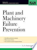 Plant And Machinery Failure Prevention Book PDF
