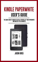 Kindle Paperwhite User s Guide