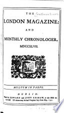 The London Magazine And Monthly Chronologer Book PDF