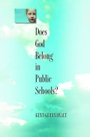 Does God Belong in Public Schools