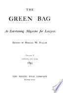 The Green Bag Book PDF