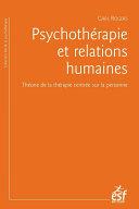 Psychothérapie et relations humaines Pdf/ePub eBook
