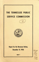 Report   Tennessee Public Service Commission