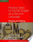 Practice Tests For Igcse English As A Second Language Reading And Writing