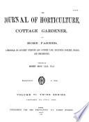 Journal of Horticulture, Cottage Gardener and Home Farmer