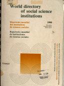 Répertoire Mondial Des Institutions de Sciences Sociales