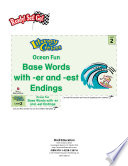 Base Words With Er And Est Endings Ocean Fun Literacy Center