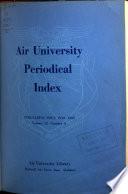 Air University Periodical Index
