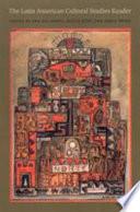 The Latin American Cultural Studies Reader