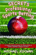 Pdf Secrets of Professional Sports Betting