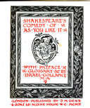 Shakespeare's Comedy of As You Like it ebook