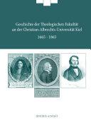Geschichte der theologischen Fakultät Teil 1 1665-1865