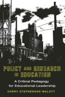 Policy and Research in Education