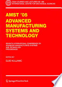 AMST 05 Advanced Manufacturing Systems and Technology