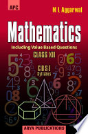 APC CBSE Mathematics - Class 12 - Avichal Publishing Company - Hints and Solutions