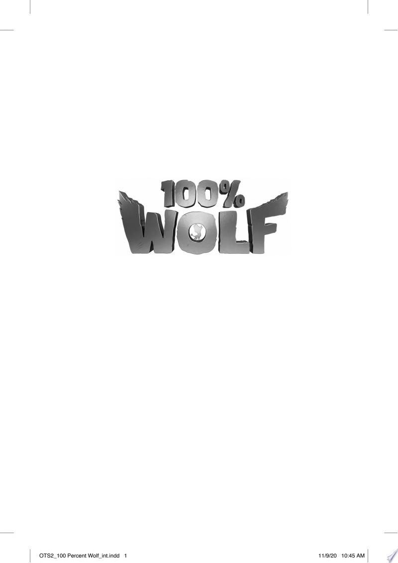 100% Wolf banner backdrop