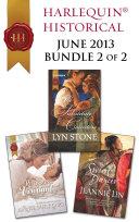 Harlequin Historical June 2013 - Bundle 2 of 2 ebook