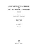 Comprehensive Handbook Of Psychological Assessment Volume 2