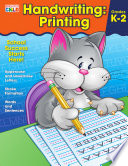 Handwriting  Printing Workbook Book PDF
