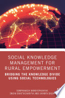 Social Knowledge Management for Rural Empowerment