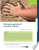 Managing Agricultural Insurance in Brazil