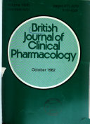 British Journal of Clinical Pharmacology Book