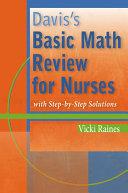 Davis's Basic Math Review for Nurses Pdf/ePub eBook