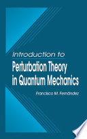 Introduction To Perturbation Theory In Quantum Mechanics Book PDF
