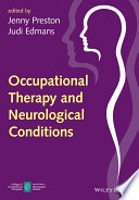 Occupational Therapy And Neurological Conditions Book PDF