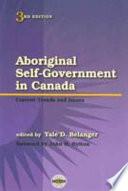 Aboriginal Self-government in Canada