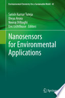 Nanosensors for Environmental Applications