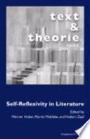 Self reflexivity in Literature Book PDF