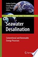 Seawater Desalination Book PDF